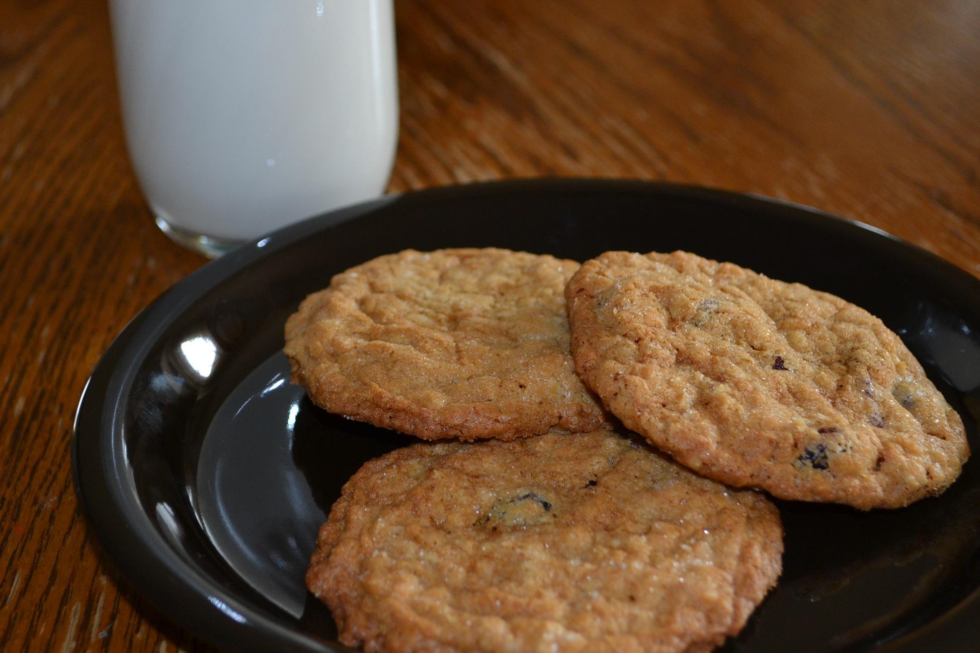 Cranberry Oatmeal Cookies | Eden Hills