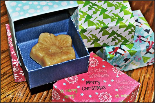 soap in Christmas box