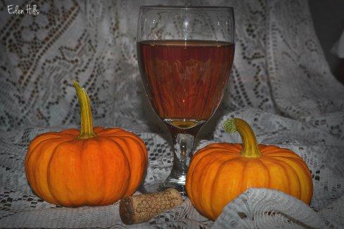 spiced pumpkin wine