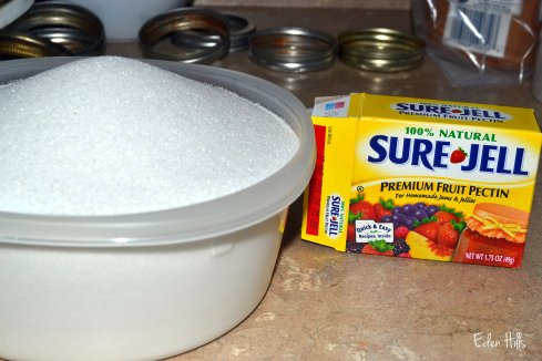 sugar and sure-gel
