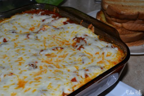 baked spaghetti with zucchini