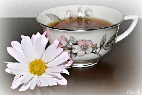 Flower Cup of tea