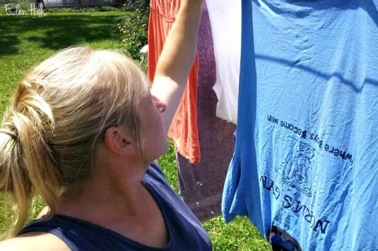 selfie laundry ew